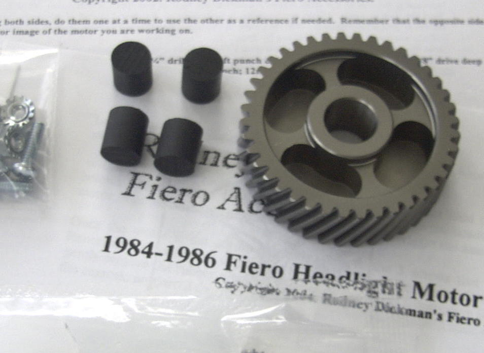 1984-1986 Fiero Headlight Motor Rebuild Kit