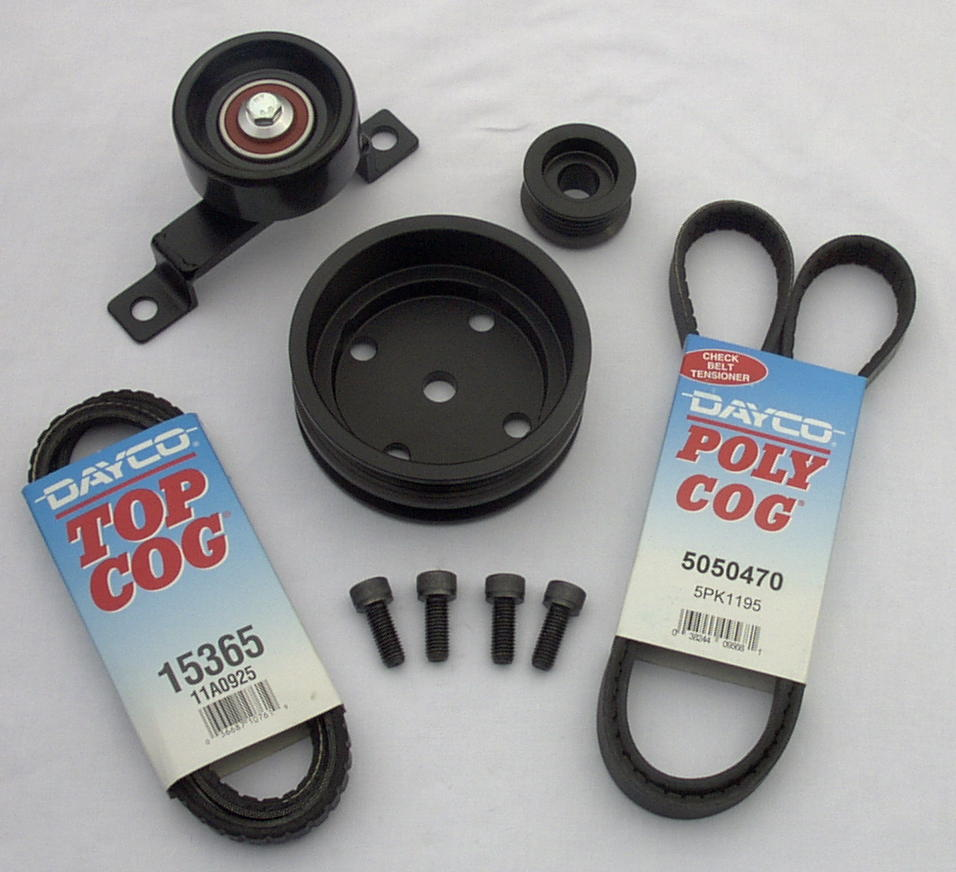 85-87 V-6 Power Pulley Kits