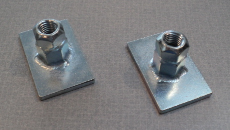 Buick Reatta Weld In Cradle Nut Plates