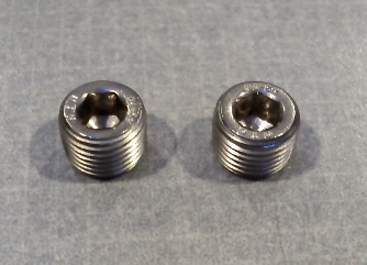Coolant Tube Drain Plugs