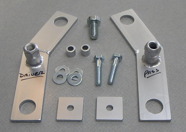 Rear Frame Floating Cradle Nut Kit