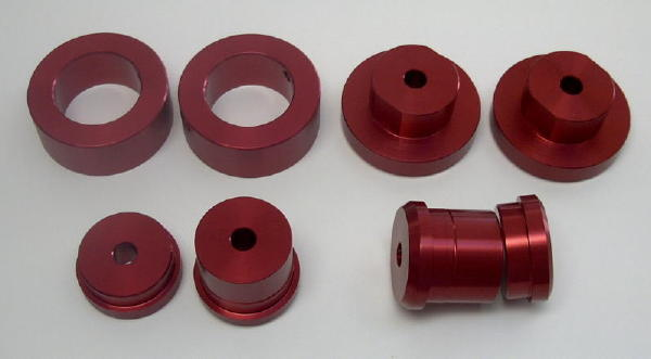 Aluminum Cradle Bushings 1984-1987